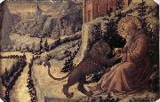 Fra Filippo Lippi St Jerome and the Lion oil painting picture wholesale